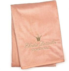 Elodie Details Pearl Velvet deken (75x10
