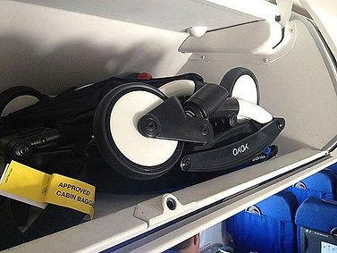 Babyzen YOYO² buggy in  bagagebak vliegt