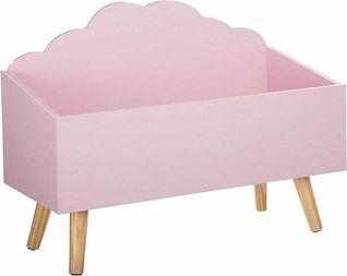 MaxxHome speelgoedkist roze