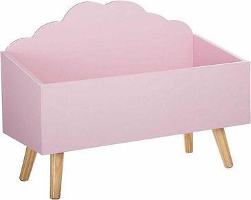 MaxxHome Spielzeugkiste rosa