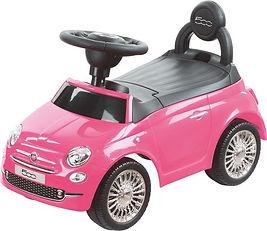 Happy Baby - loopauto - Fiat 500 Roze.jp
