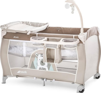 Hauck babycenter campingbed beige