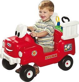 Little Tikes Brandweertruck met spuit 80
