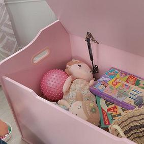 KidKraft Austin Speelgoedkist roze