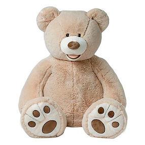 Mega grote reuze teddy knuffel beer 150 cm lichtbruin-min.jpg