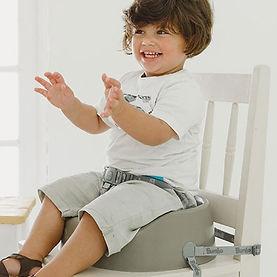 Kind op Bumbo - Booster Seat - Cool Grey.jpg