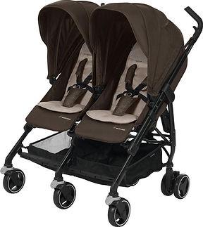 Maxi Cosi Dana For2 Kinderwagen - Nomad Brown (Black Frame).jpg
