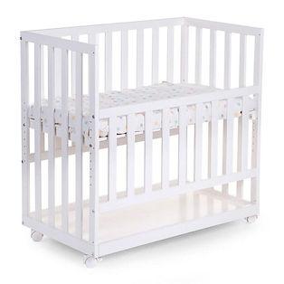 Childhome beistellbett und babywiege weiss