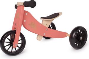 Kinderfeets houten driewieler loopfiets