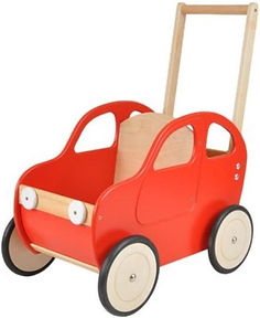 Playwood - Houten loopwagen auto - Rood.jpg