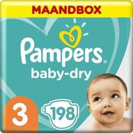 Pampers Baby-Dry Luiers - Maat 3 (6-10 k