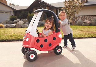 Little Tikes Loopauto Cozy Coupe lievehe