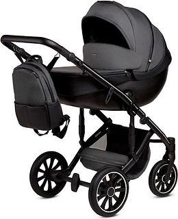 Anex m type kinderwagen grijs zwart