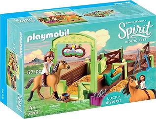 PLAYMOBIL Spirit Pferdebox Lucky & Spiri