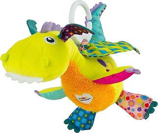 Lamaze Flip Flap Draakje baby speelgoed.