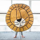 Kindervloerkleed Lion - Leeuw - 100 rond