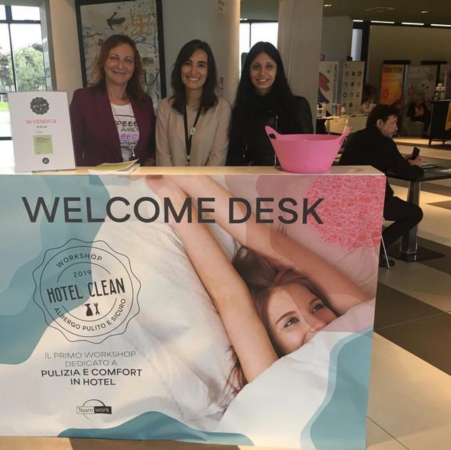 Hotel Clean - Teamwork -  BOLOGNA 2019