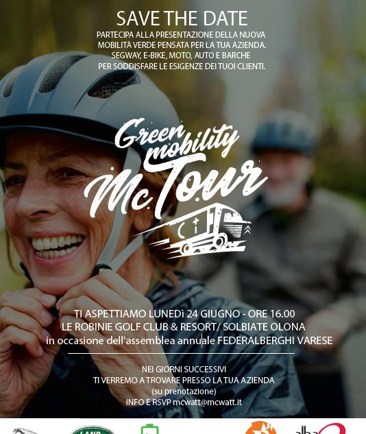 Green Mobility McTour - SOLBIATE OLONA 2019