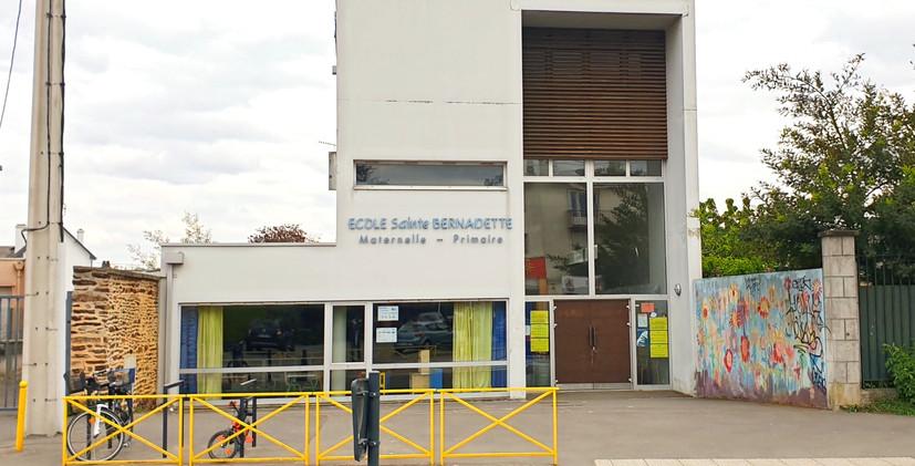 Ecole vue rue de Nantes