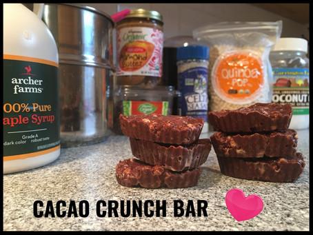 Cacao Crunch Bar Recipe