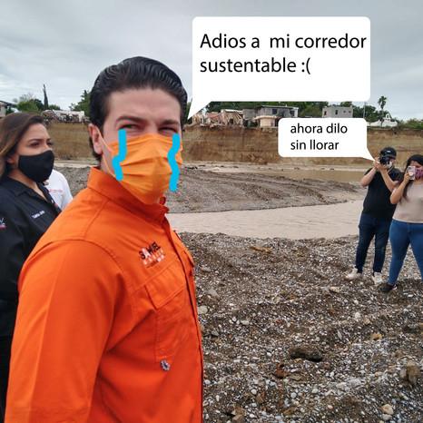 Politicos de Nuevo León no aprenden de huracanes pasados.