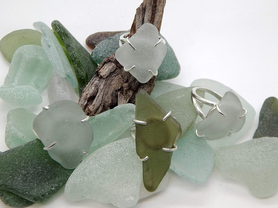 Sea Glass on Sea Glass