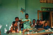 Ben Nteza and his community in Uganda