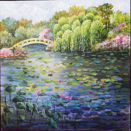 Replica - Monet Painting