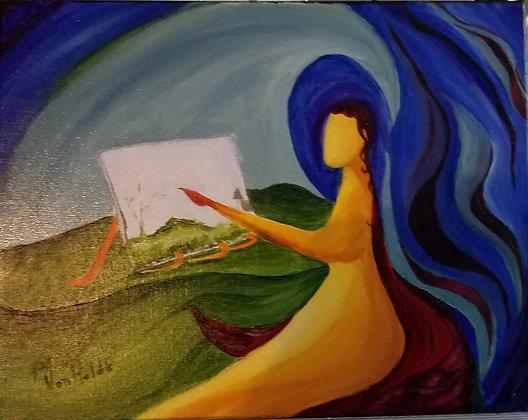 The Artist- Oil