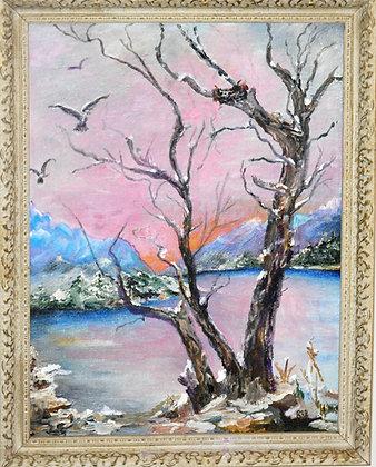 Beaver Lake - Painting
