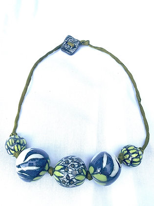 Clay Beaded Necklace