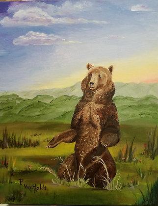 Mediating Bear - Oil