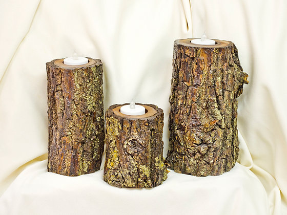 3 Set Candle Holders