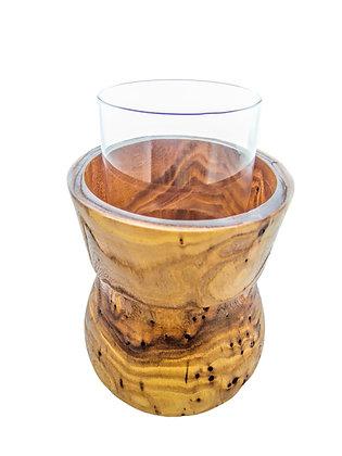 Vase w/ Glass insert