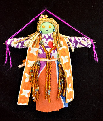 Embroidered Voodoo Doll