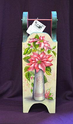 Poinsettia Sleigh