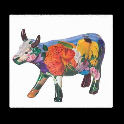 Vache Cow Parade Moyen Modèle Georgia O 'Kowffe