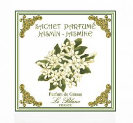3 Sachets Parfumés Jasmin Leblanc-France