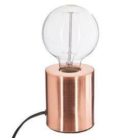 Lampe Métal tube Cuivre