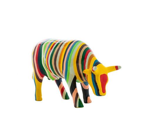 Vache Cow Parade Striped Cow