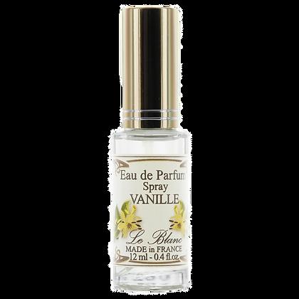 Eau de Parfum Leblanc 12ml Vaporisateur Vanille