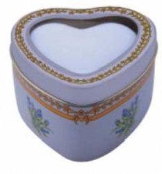 3 Boites à Savon Coeur en métal Création Leblanc