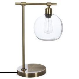 Lampe Métal Globe Bronze