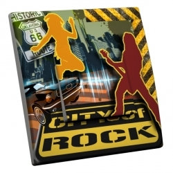 intérrupteur Décoratif Modèle City Of Rock