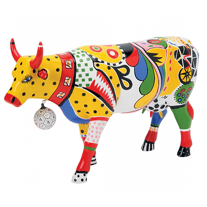Vache Cow Parade Grand Modèle Kick