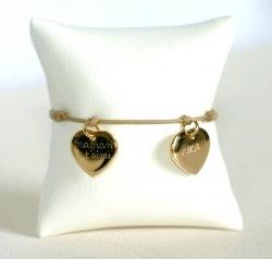 Bracelet Coeur Plaqué Or Mon Cadeau Préféré