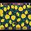 Pochette pour Ordinateur Modèle Citron Nocturne