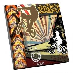 intérrupteur Décoratif Modèle Free Ride BMX