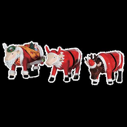 Vache Cow Parade Moyen Modèle Art-Pack Christmas