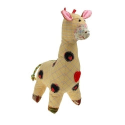 Doudou Patchie Les Petites Marie Modèle Girafe